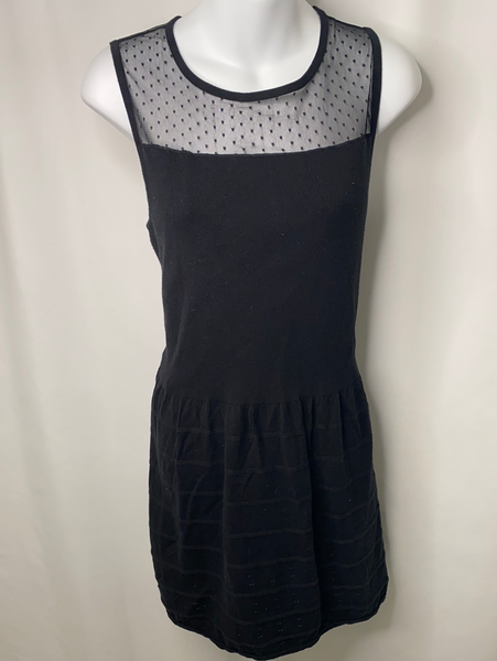 Kardashian Kollection Black Sleeveless Dress