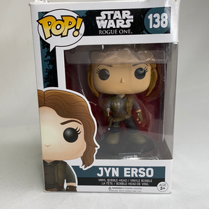 Jyn Erso Star Wars Rogue One Funko Pop Figurine