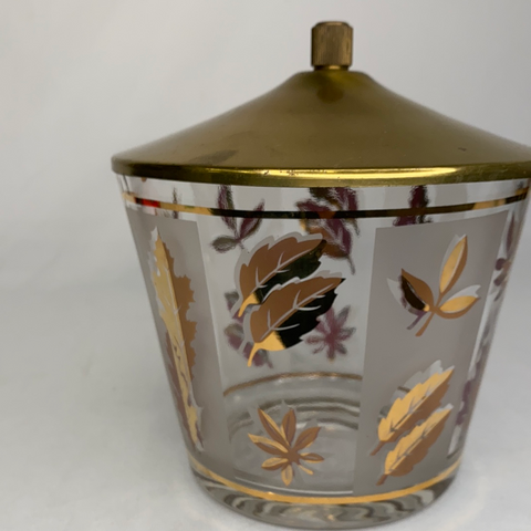 Ice Bucket With Brass Lid