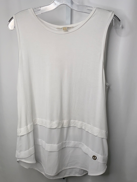 Michael Kors Layered Sleeveless Tank Top