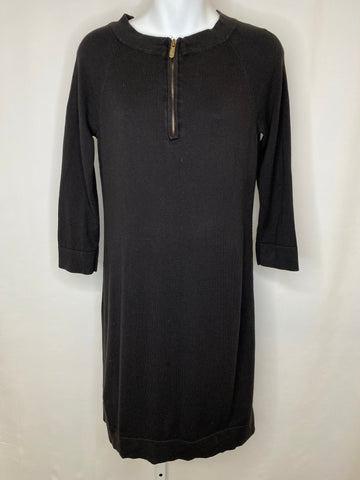 Michael Kors Long Sleeve Midi Dress