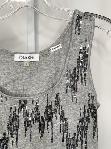 Women's Calvin Klein Sequin Sleeveless Top