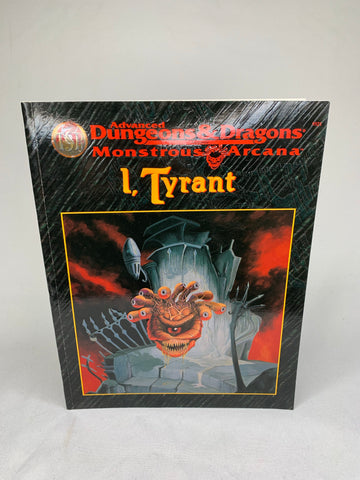 Advanced Dungeons & Dragons Monstrous Arcana ' I, Tyrant'