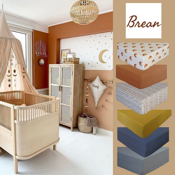 BREAN's choice to keep things 'earthy' highlights a trend in nurseries across Scandinavia and Australia