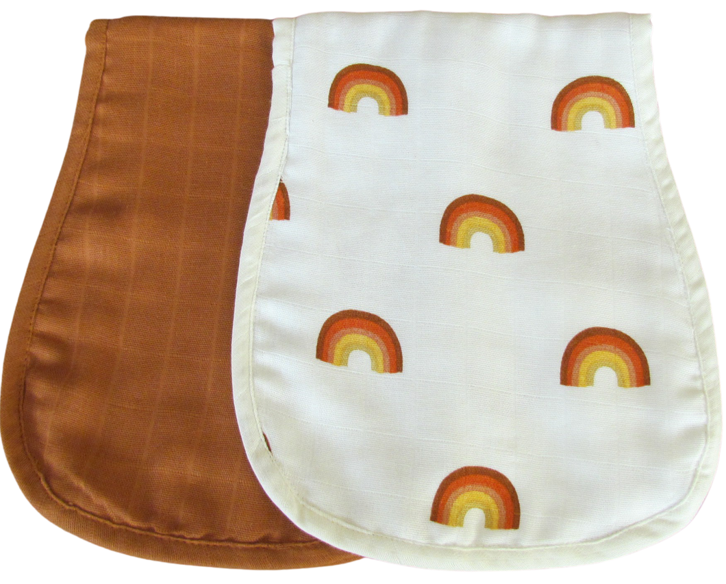 Burp Pad by BREAN pack of 2  Sedona and Sweet Dreams