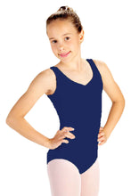 Load image into Gallery viewer, Cotton Tank Leo with Adjustable Front Pinch - D6000