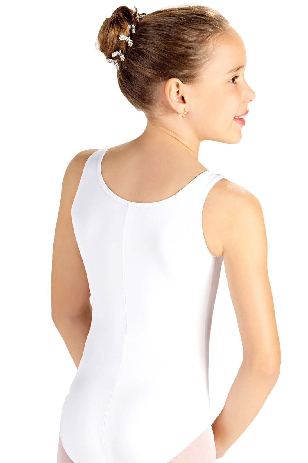 Cotton Tank Leo with Adjustable Front Pinch - D6000