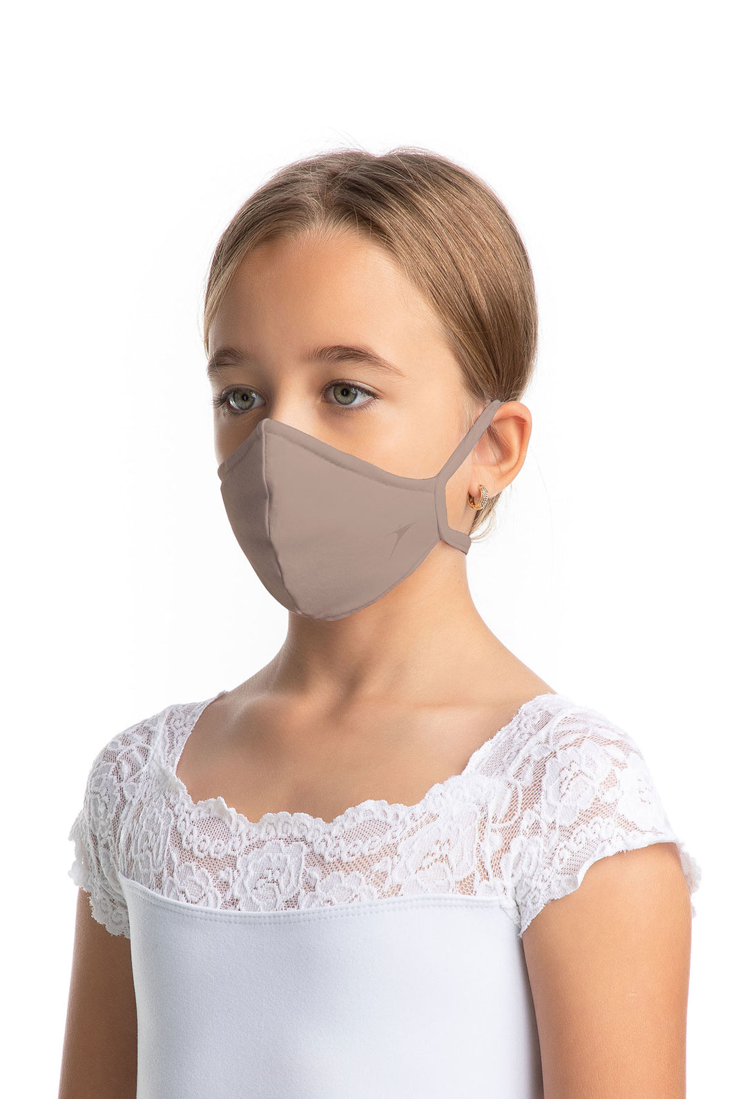 Child Unisex Fitted Face Mask With Earloops - L2377