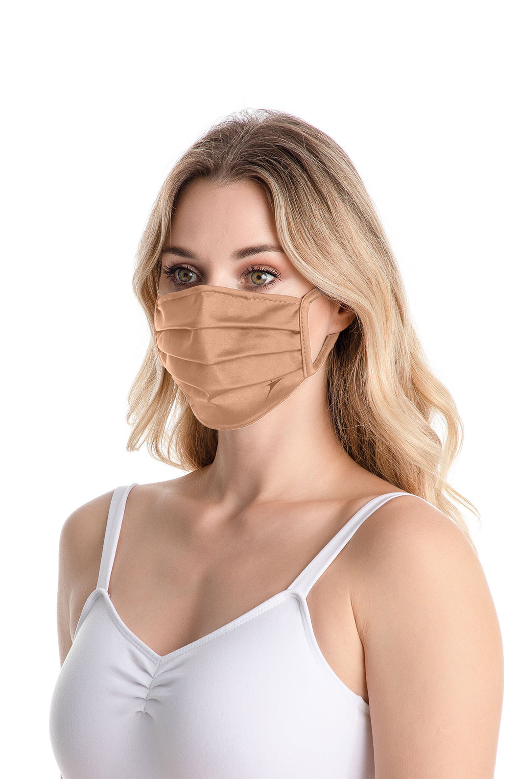 Adult Unisex Pleated Face Mask With Earloops - RDE2374