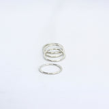 Flattened Stacking Rings