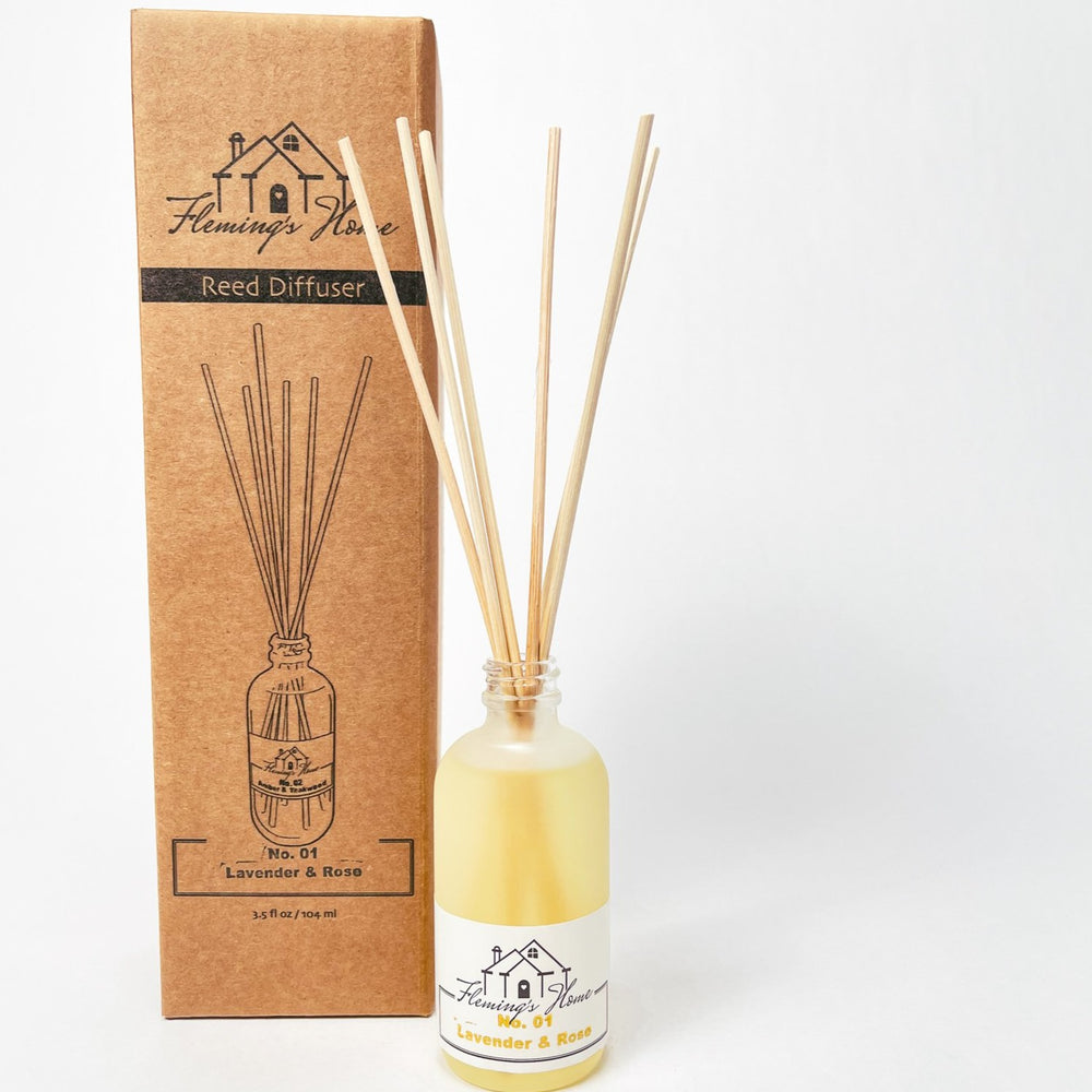 Load image into Gallery viewer, No.02 Amber & Teakwood - Reed Diffuser