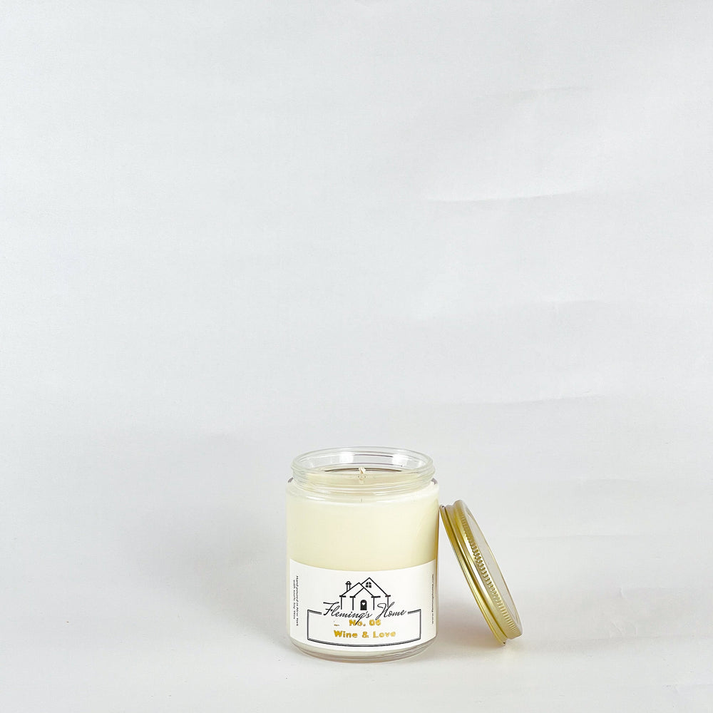 No.06 Wine & Love Signature Candles