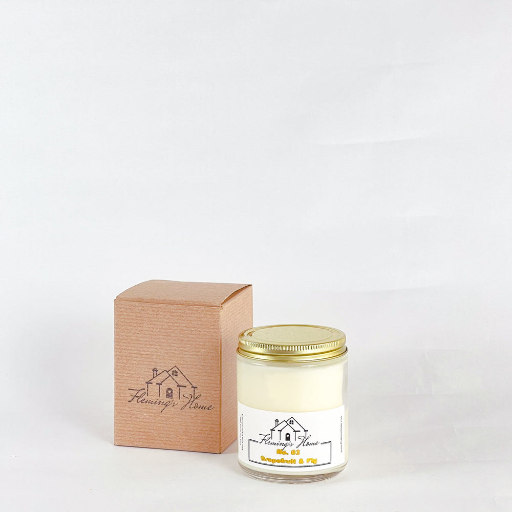 Load image into Gallery viewer, (NEW) No.03 Grapefruit & Fig Signature Candle