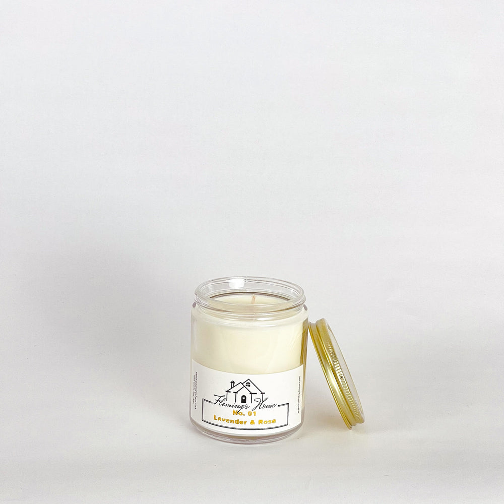 Load image into Gallery viewer, No.01 Lavender & Rose Signature Candle