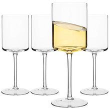 Load image into Gallery viewer, Tuxedo Wine Glasses, Large Red Wine or White Wine Glass (Set of 4)