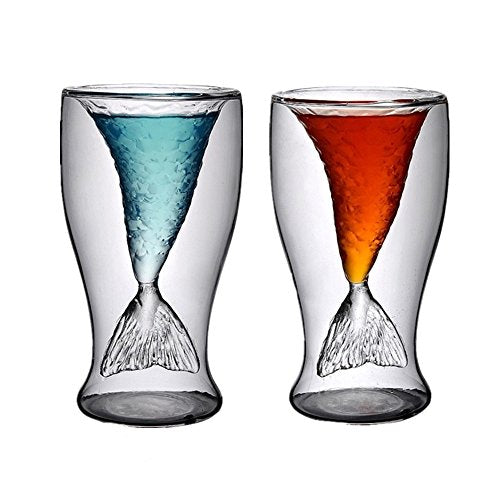 Mermaid Shot Glass, 2 Pack