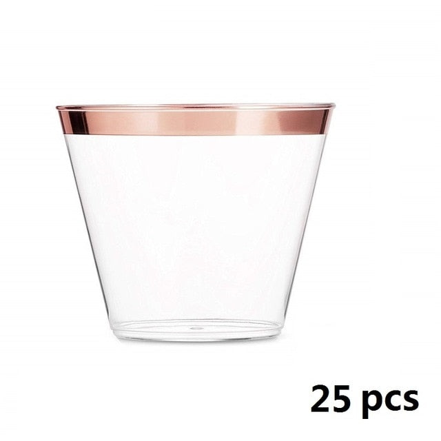 9OZ Disposable Wine Tumblers