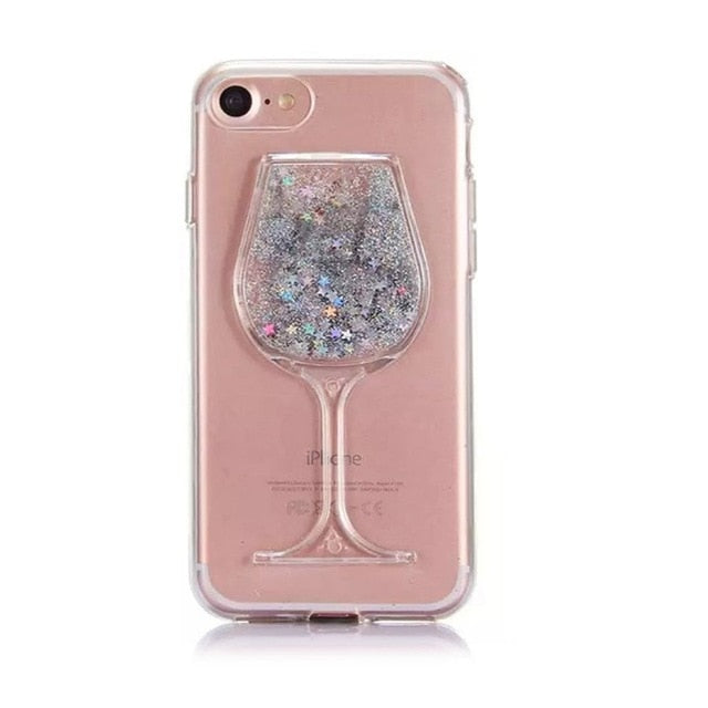 Wine on the line Phone Case