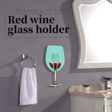 Load image into Gallery viewer, Party Don't Stop Wine Glass Holder