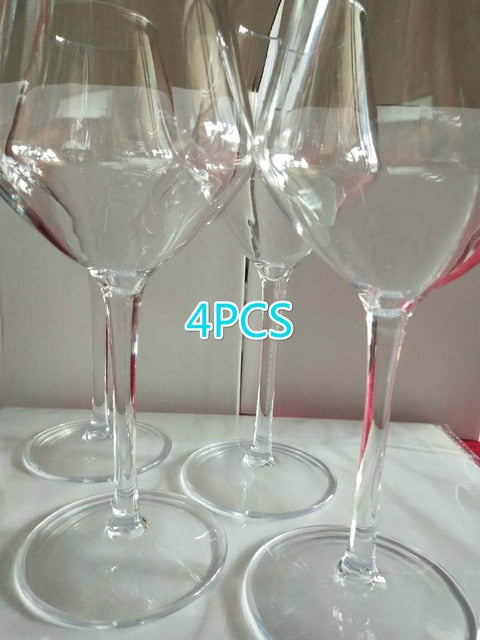 Something Like The Real Thing Plastic Wine Glass