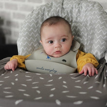 Load image into Gallery viewer, Grey Feather Cover Me - Multi-Use Breastfeeding Cover