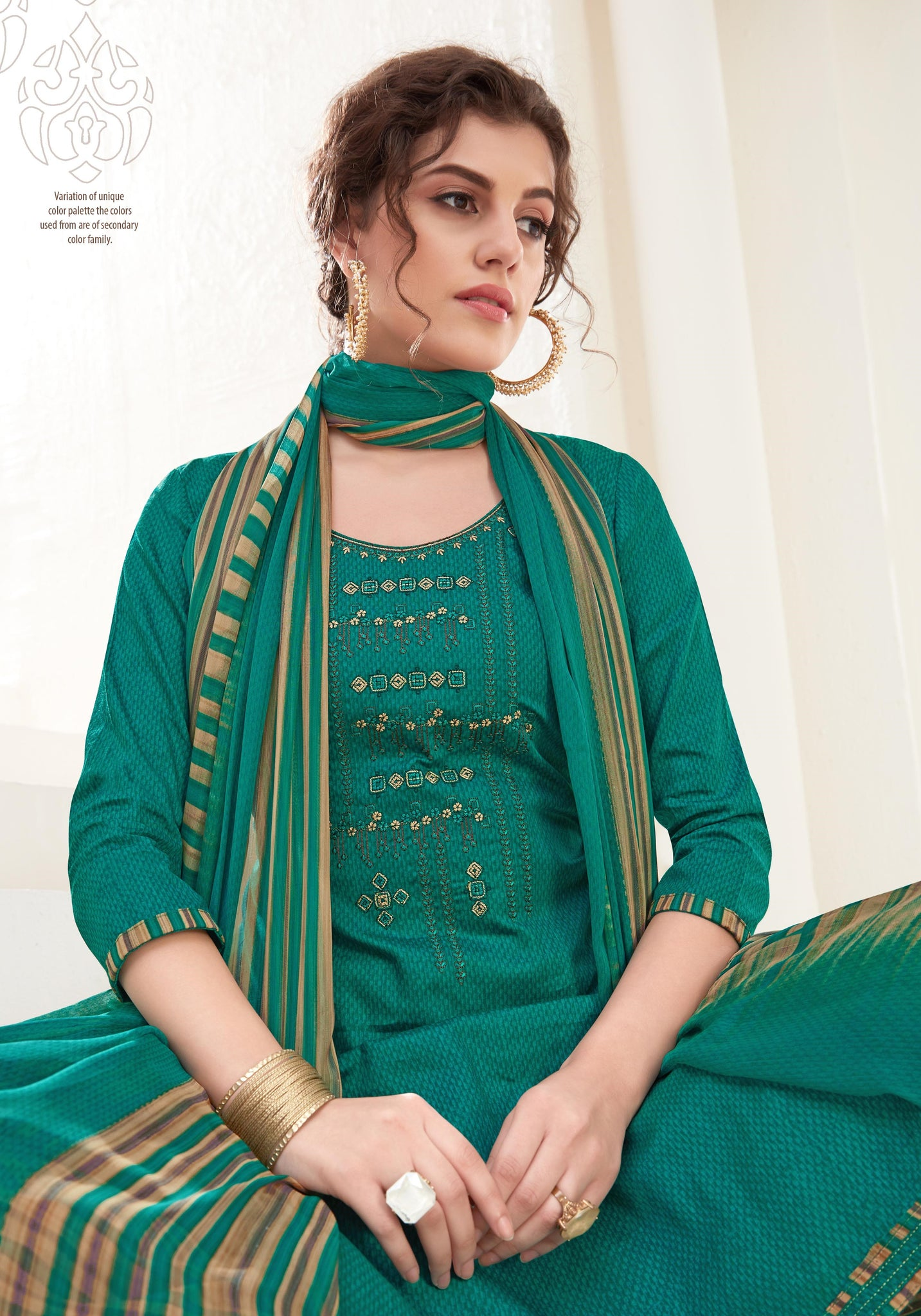 Nusrat E Patiyala Fancy Thread Embroidery