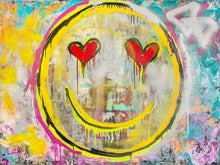 Load image into Gallery viewer, Happiness #1 Print on Canvas