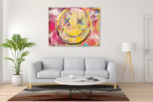 "Load image into Gallery viewer, ""Happiness #2"" Print on Canvas"