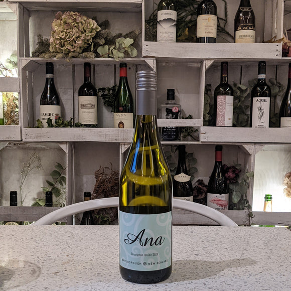 2018 Ana Sauvignon Blanc Marlborough, New Zealand (Vegan)