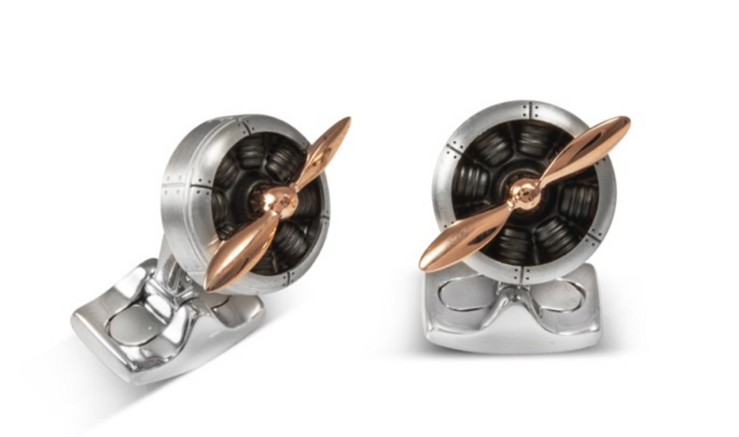 Sopwith Propellor Cufflinks