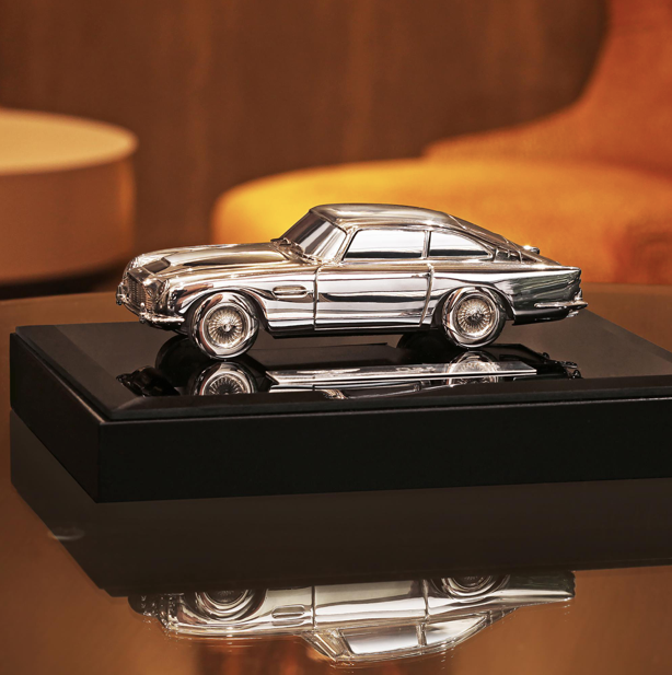 Limited Edition Aston Martin DB5 Silver Model