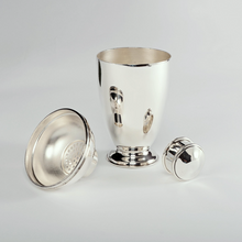 Load image into Gallery viewer, Art Deco Silver Cocktail Shaker