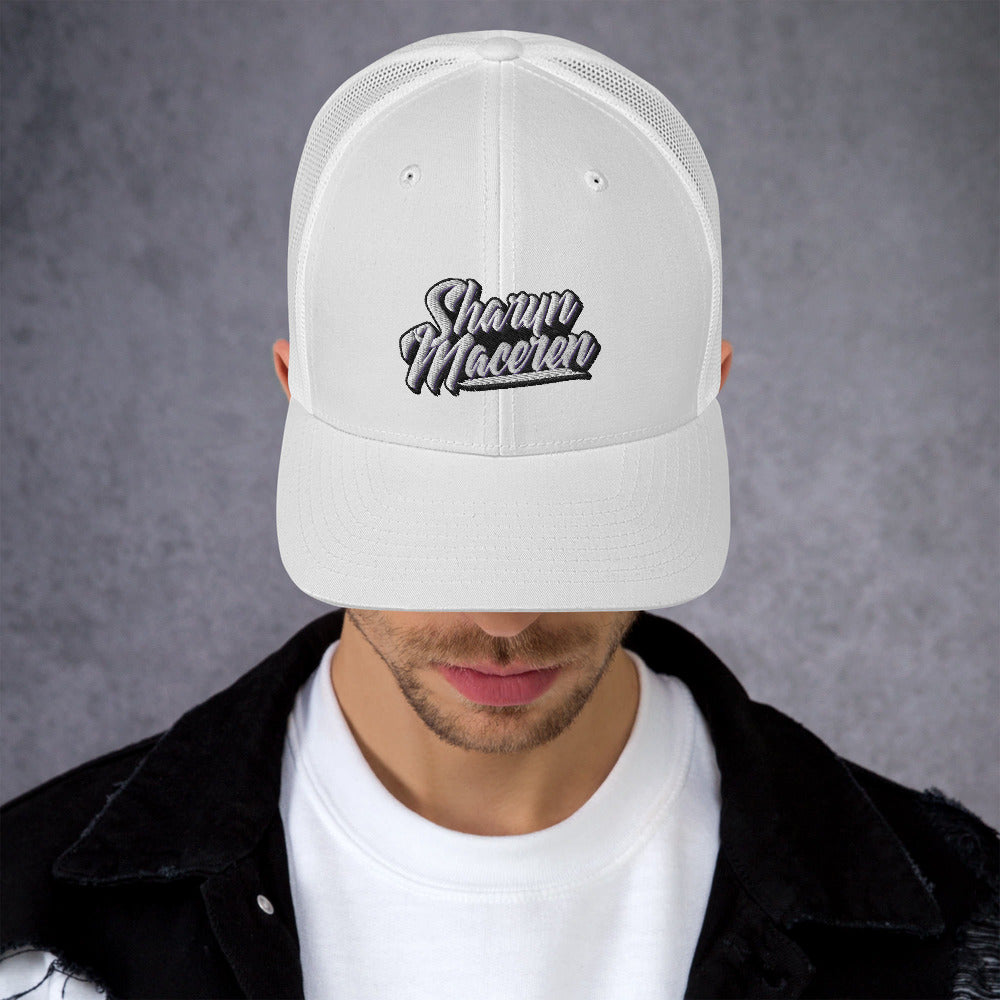 Sharyn Maceren - Signature Trucker Hat (White)