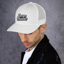 Load image into Gallery viewer, Sharyn Maceren - Signature Trucker Hat (White)