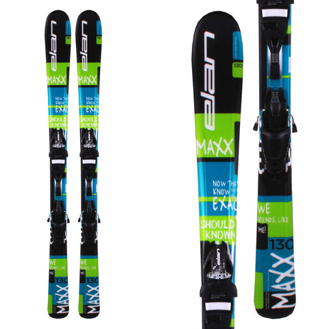 Elan Maxx Junior Alpine Skis - Free Shipping in Canada