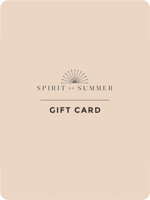 Spirit Of Summer e-Gift Card