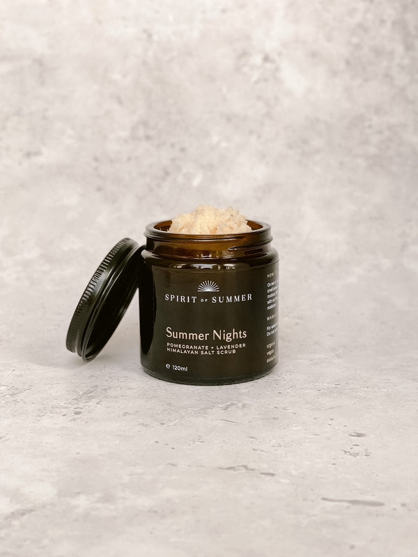 Summer Nights Salt Scrub