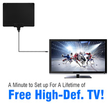 Load image into Gallery viewer, Mediasonic HD TV Antenna Support 1080P 4K UHF / VHF - 50 Miles Range High Performance Indoor HDTV Antenna - (HW-210AN-V2)
