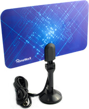Load image into Gallery viewer, Mediasonic Homeworx Super Thin Indoor HDTV Antenna - 25 Miles Range (HW110AN)