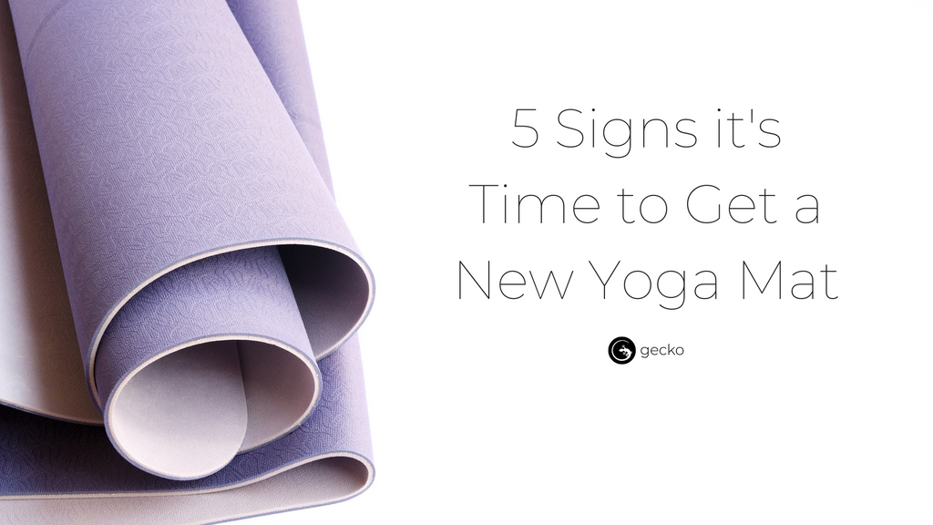 5 Signs It's Time for a New Mat