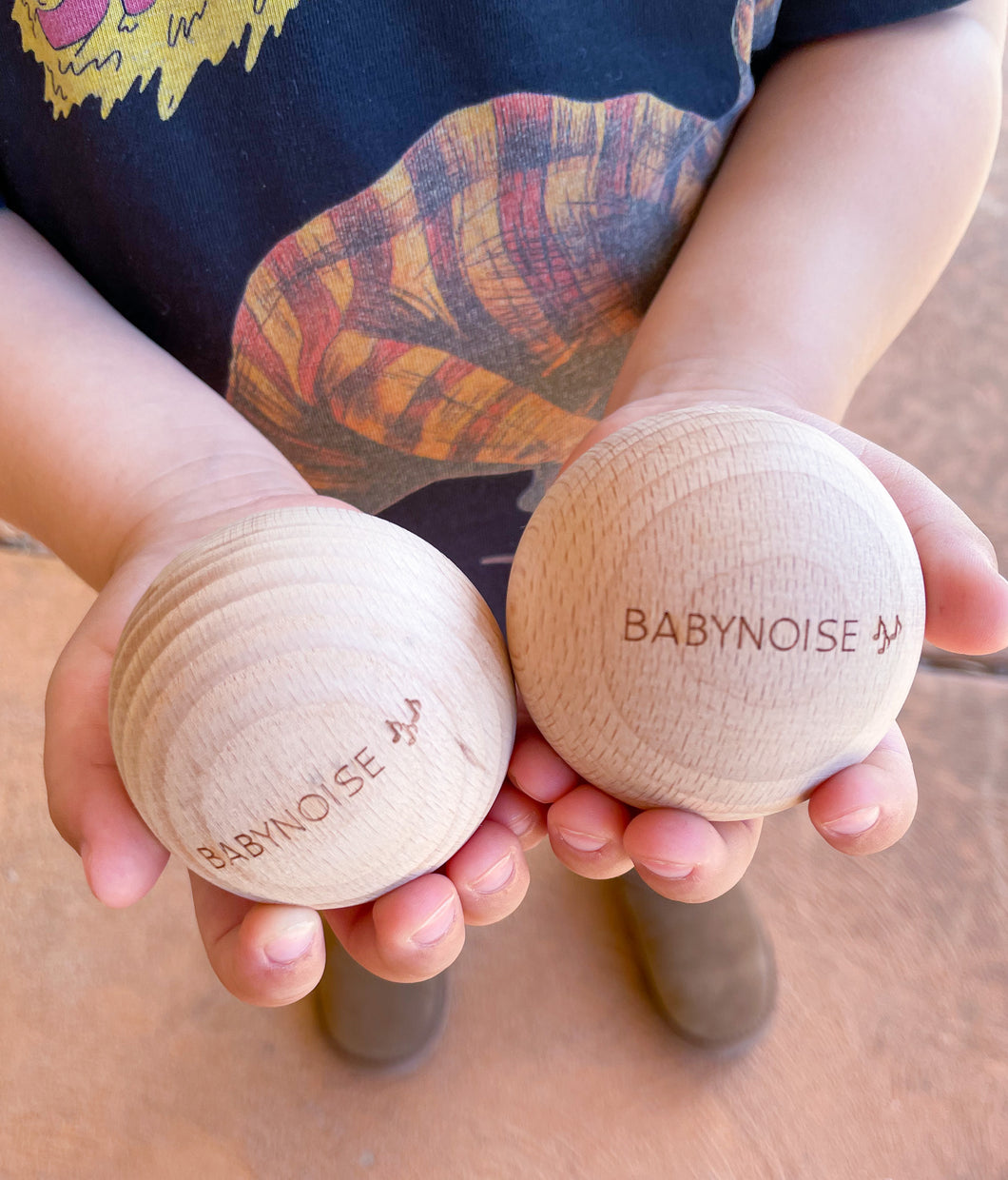 Babynoise - Mini Orb Shakers with stand