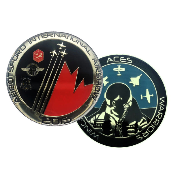 "2015 ""Aces, Warriors & Wingmen"" Challenge Coin"