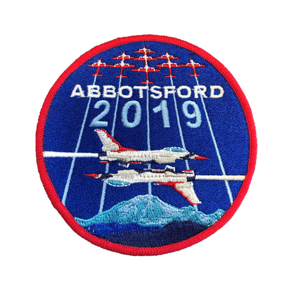 2019 Abbotsford Airshow Velcro-back Patch