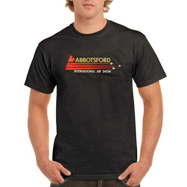 Abbotsford Airshow Embroidered T-Shirt