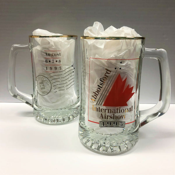 1993 Abbotsford Airshow Glass Stein