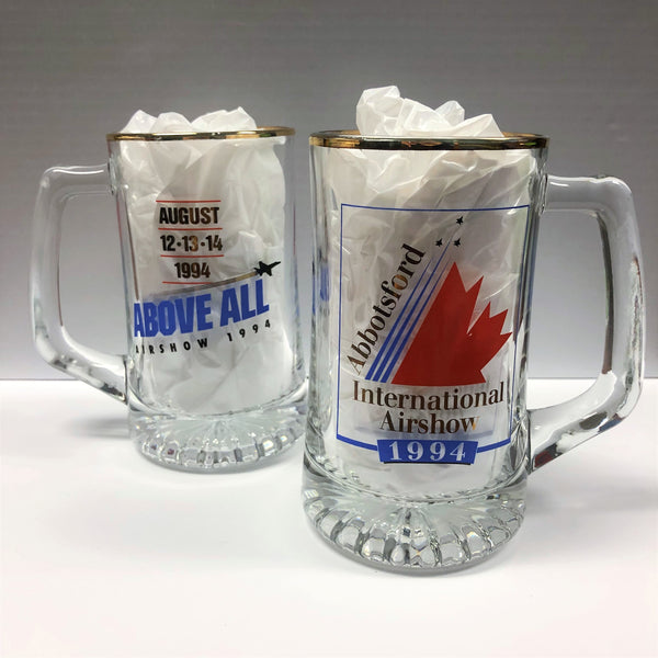 1994 Abbotsford Airshow Glass Stein