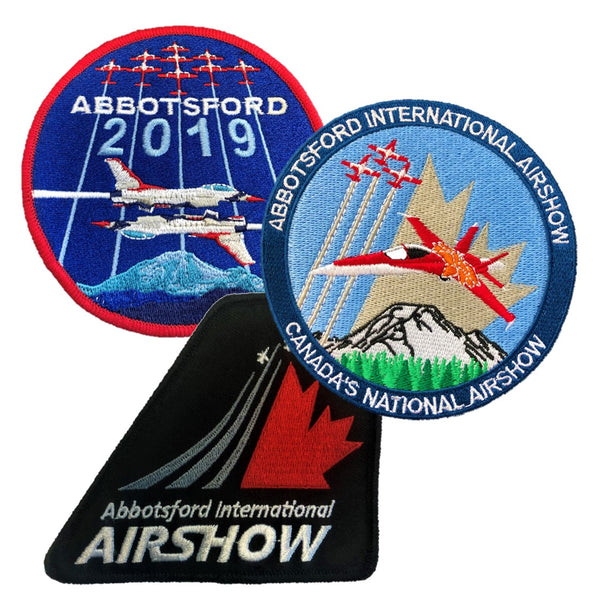 Abbotsford Airshow Patches (3-Pack)