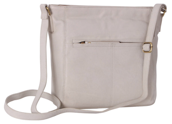 Avenue Hunter Tote Bag Cowhide White/gold