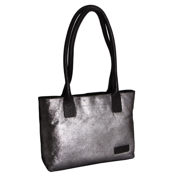 Avenue Hunter Hand Bag Metallic Silver