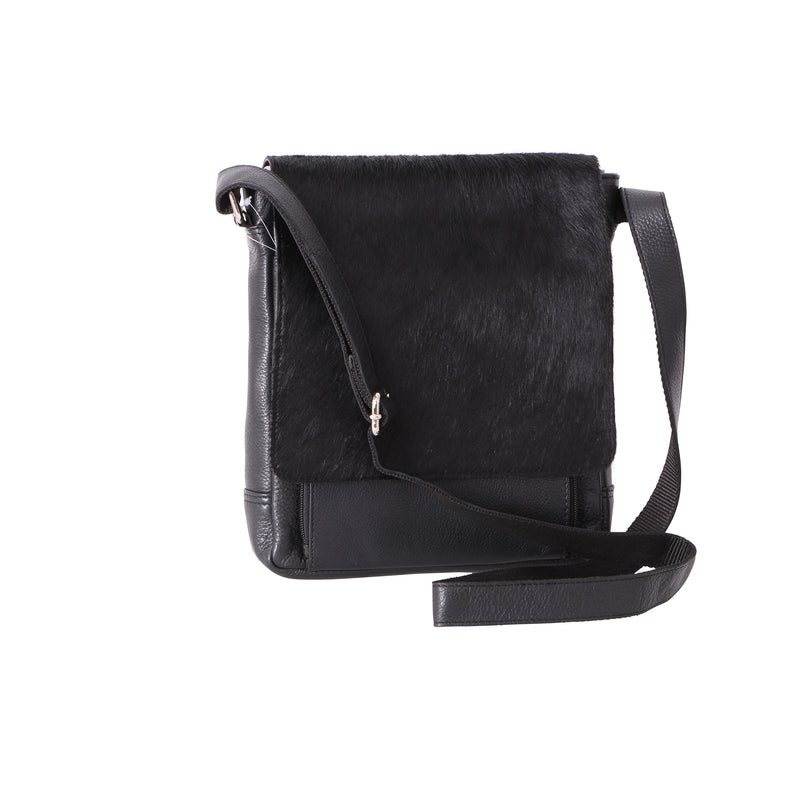 Avenue Hunter Hide Messenger Bag Black/black